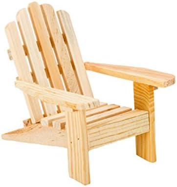Darice 3 Adirondack Chairs Unfinished Cake Top Beach Theme Wedding