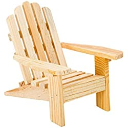 "20 Adirondack Wood Chairs Wedding Party Favors 3.5"" High"
