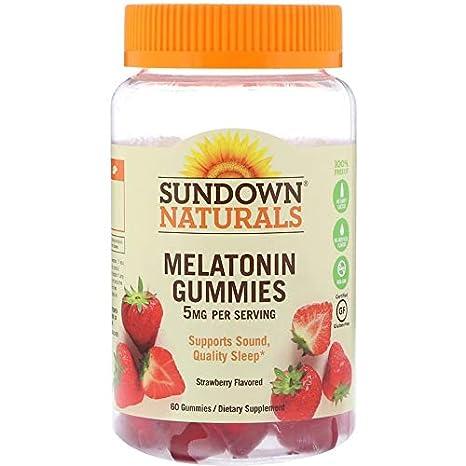 Amazon.com: Sundown Naturals Melatonin Gummies 60 Ct (Pack of 3): Health & Personal Care