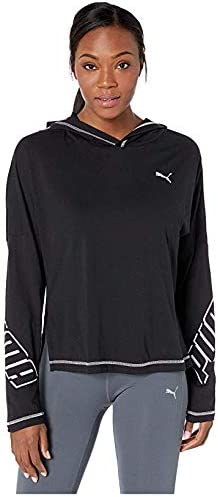 [PUMA(プーマ)] レディーススウェット・パーカー等 Modern Sports Light Cover-Up PUMA Black (XL) [並行輸入品]