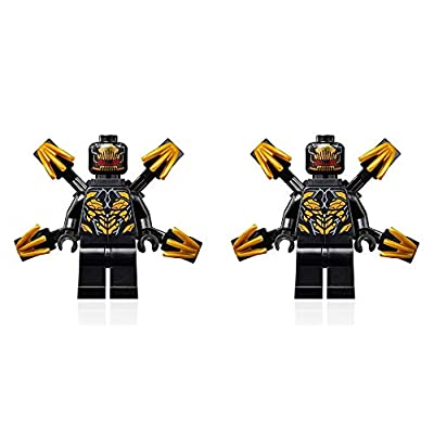 LEGO Super Heroes Avengers Endgame Minifigure - Outrider 2 Pack (with Extended Claws) 76123: Toys & Games