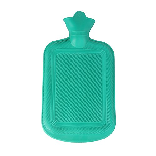JOUDOO Classic Rubber Intensification Hot or Cold Water Bag for Pain Relief and Comfort - 58OZ (1700ml) - Thermal Comfort
