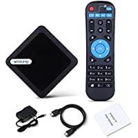 Android 6.0 tv box,WOSUNG 95X Amlogic S905X smart TV Box RAM 1G 8G EMMC Quad Core Mali 450 4K 3D 64 Bits Set Top Box