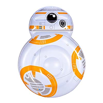 SwimWays Star Wars BB-8 Oversized Inflatable Pool Float, Multicolor: Toys & Games