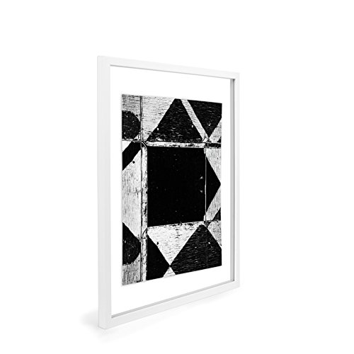 EDGEWOOD Driftwood- Float Frame- 11x14 White by EDGEWOOD (Image #3)
