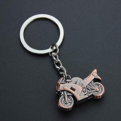 Amazon.com : Occus 3D Metal Model Motorcycle Keychain Mini ...