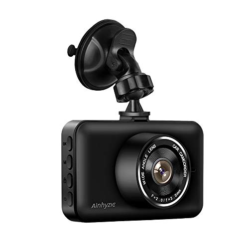 Dash Camera Car On-Dash Video Recorder 1080P Full HD Resolution 140 Wide Angle Night Vision Parking Monitor Motion Detection Car Driving Recorder