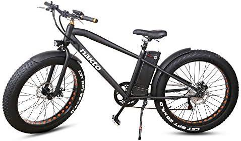 Nakto Bicicleta eléctrica de montaña 36 V/10 Ah batería de Litio 350 W Alta eficiencia sin escobillas Motores Adultos Bicicleta eléctrica 2019 Nuevo Sistema de 6 velocidades Shimano Ebike: Amazon.es: Deportes y aire libre