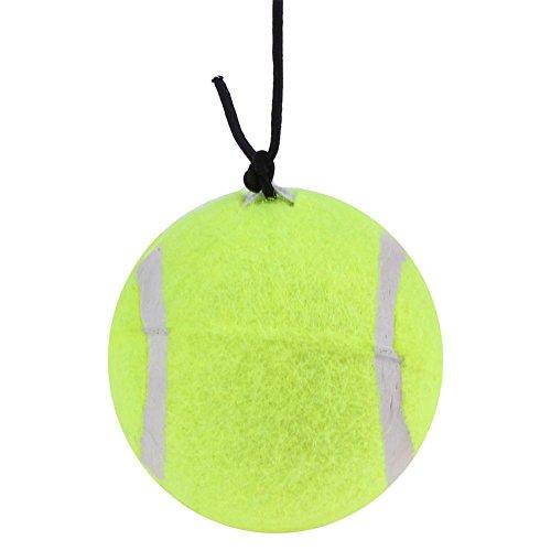 Domybest High Elasticity Self-Study Woolen Training Tennis Ball w/ Detachable String (Packages String Tennis)