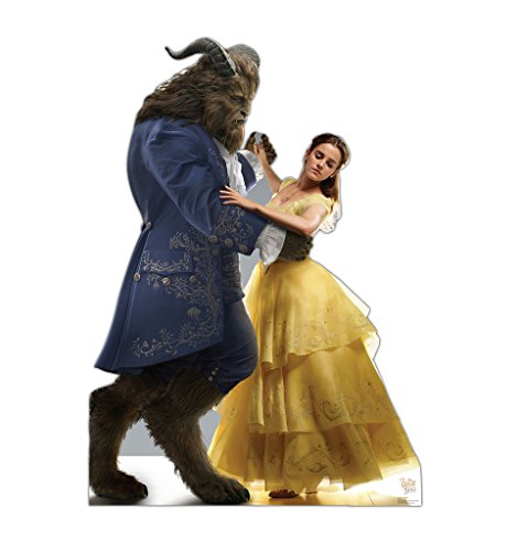 Belle & Beast - Disney's Beauty and the Beast (2017 Film) - Advanced Graphics Life Size Cardboard Standup