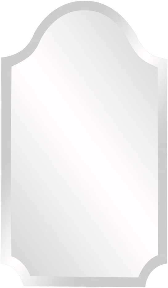 Howard Elliot, Wall Mirror, Ready to Hang, Arched Design, 16 x 27, 36lbs