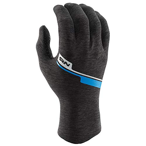 NRS Men's Hydroskin Gloves Gray Heather (XL) (Best Ski Gloves 2019)