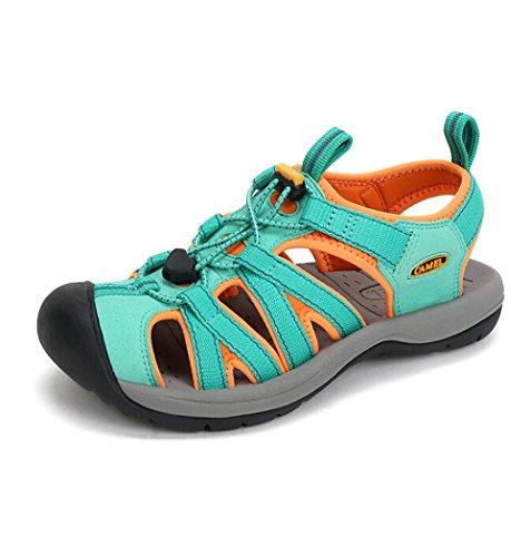 Cammello Da Donna Outdoor Elegante Sandalo Sportivo Colore Blu Taglia 39 M Eu