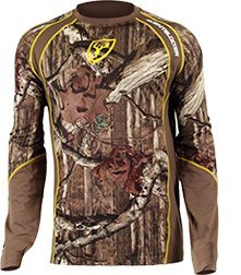 Scent Blocker 1.5 Performance Long Sleeve Shirt, Camo, 2X-Large