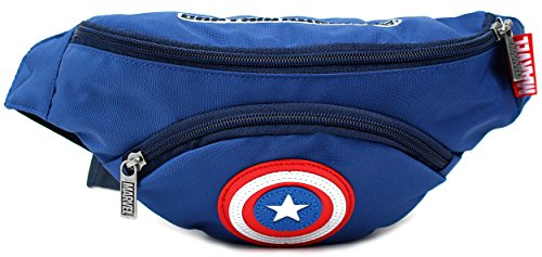 Disney MARVEL Captain America Small HipSack Waist Pack Fanny Phone Wallet