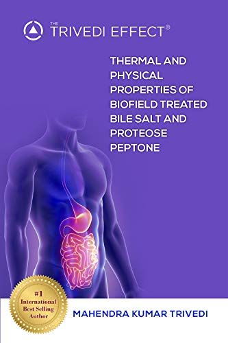 Thermal Salts - Thermal and Physical Properties of Biofield Treated Bile Salt and Proteose Peptone