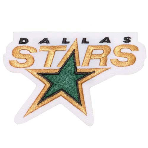 NHL Dallas Stars Embroidered Team Logo Collectible Patch Nhl Team Logo Merchandise