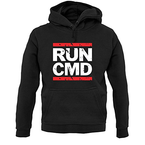Dressdown Run CMD - Unisex Hoodie - Black - XXL