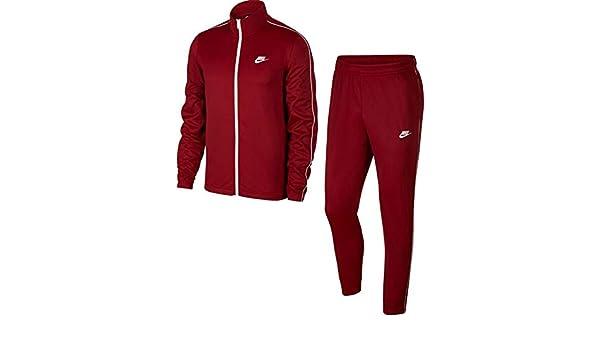 Nike Sportswear Chándal, Hombre, Team Red/White/White, M: Amazon ...