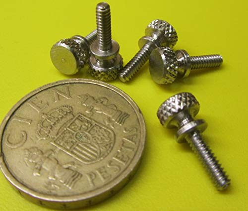 Raised Knurled-Head Thumb Screw Thread Size 1//4-20 Thread Size 1//4-20 FastenerParts 18-8 Stainless Steel