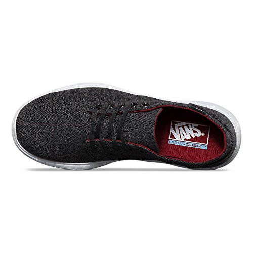 Vans Men's Iso 2 Tweed Casual Shoes Black/White buy cheap factory outlet xqQk5C