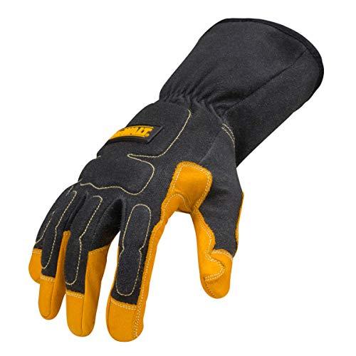 DEWALT DXMF02051MD Premium MIG/TIG Welding Gloves, Medium (Leather Palm Glove Dewalt)
