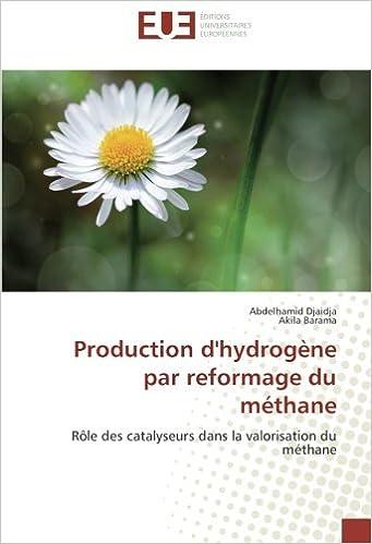 Livre gratuits Production d'hydrogène par reformage du méthane: Rôle des catalyseurs dans la valorisation du méthane epub, pdf