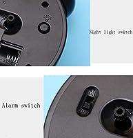 Amazon.com: XNZ - Reloj despertador clásico de doble campana ...