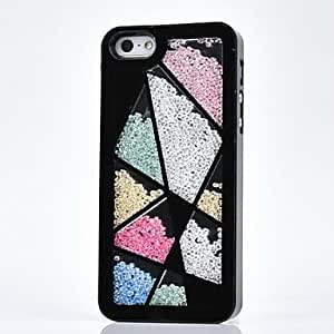 DD iPhone 4/4S/iPhone 4 compatible Diamond Look Jewel Covered Cases , White