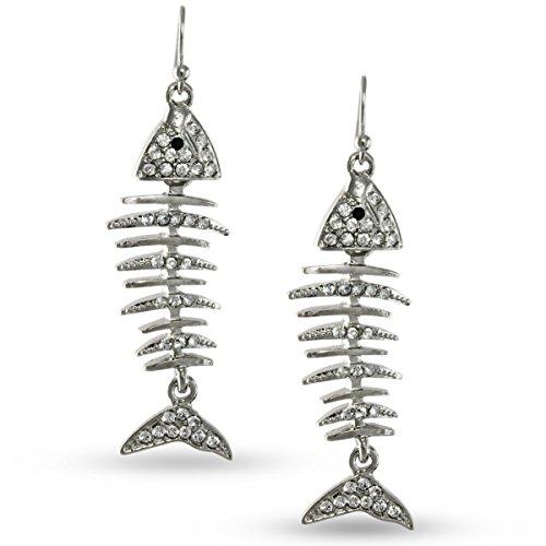 heirloom-finds-silver-tone-clear-crystal-funky-fishbone-dangle-earrings