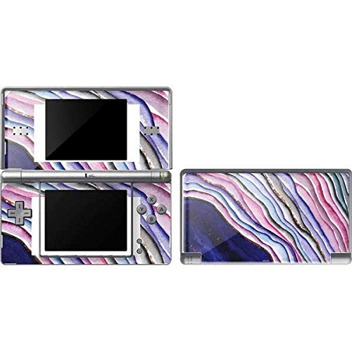 Skinit Violet Watercolor Geode Skin for DS Lite - Original Gaming Decal Design - Ultra Thin, Lightweight Vinyl Decal Protection (Ds Vinyl Skin)
