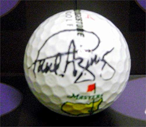 Paul Azinger autographed golf ball (PGA Championship 1993 University Florida State Seminoles) with free display cube (Paul Memorabilia Azinger)