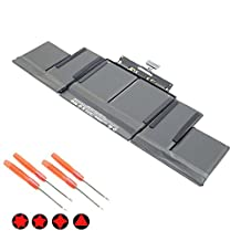 """SOLICE New A1494 A1398 Laptop Battery for Apple Macbook Pro 15"""" Retina (Late 2013 & Mid 2014) ME294 ME293 11.26V 95Wh"""
