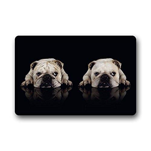 Mr. Six Bull Dog Doormat Non Slip Floor Mat 23.6 X 15.7 Inch Bathroom Kitchen Decor Area Rug/Floor Mat 23.6 X 15.7 Inch