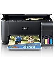 Multifuncional Epson EcoTank L3150 - Tanque de Tinta Colorida, Wi-Fi Direct, USB, Bivolt
