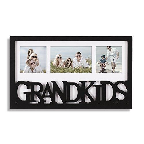 Amazon.com - Adeco Decorative Black White Wood \'\'Grandkids\'\' Wall ...