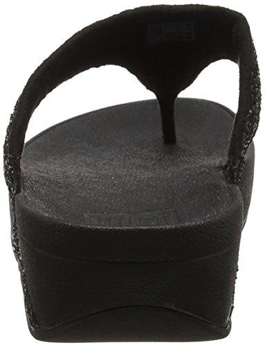 Fitflop black T Sandalias C62 bar 001 Mujer Negro qfgAqw