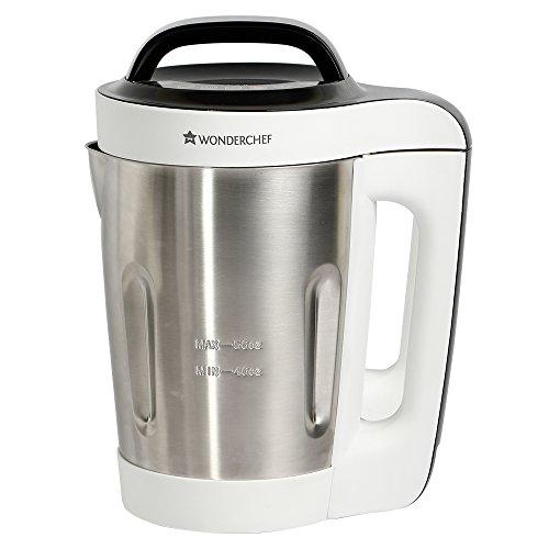 Wonderchef Automatic Soup Maker, 1.6L, 800W, White And Steel