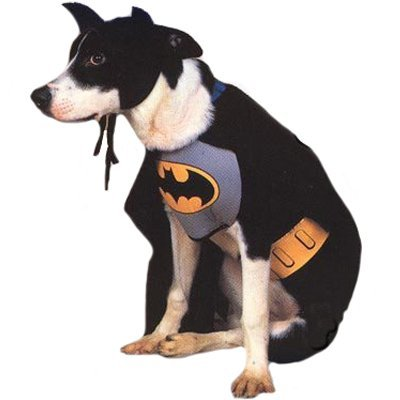 Batman Dog Costume Size Large
