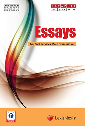 books for essay for upsc Get all the recommended ias books for prelims and mains exam  topic-wise  solved papers for gs mains as well since you will know the current trend of  upsc.