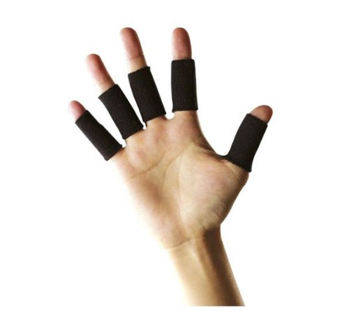 Durable10 Stretchy Finger Protector Sleeve, Arthritis Support Sports Aid FM