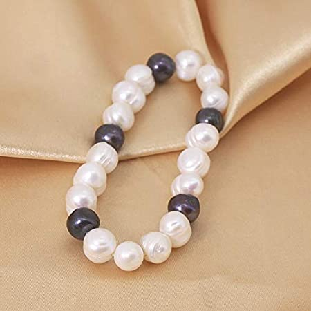 Freshwater Pearl Necklace,Pearl Anklet Single Pearl White Faux Suede  Leather Necklace Large Baroque Pearl Choker Necklace  Anklet