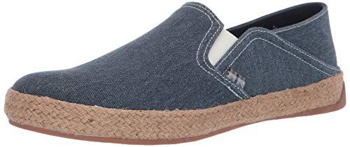 Ben Sherman Men's Prill Heel Slip Sneaker, Blue Canvas, 8 M US ()