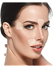 Blumbody Wrinkle Patches for Face - 160 Triangle Wrinkle Remover Strips for Smoothing Eye, Mouth or Forehead Wrinkles - Reusable Facial Wrinkle Patches that work as Anti Wrinkle Treatment Overnight