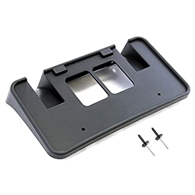 Red Hound Auto Front License Plate Frame Holder Bracket 2005-2007 Compatible with Ford Super Duty F-250 F-350 F-450 F-550: Automotive