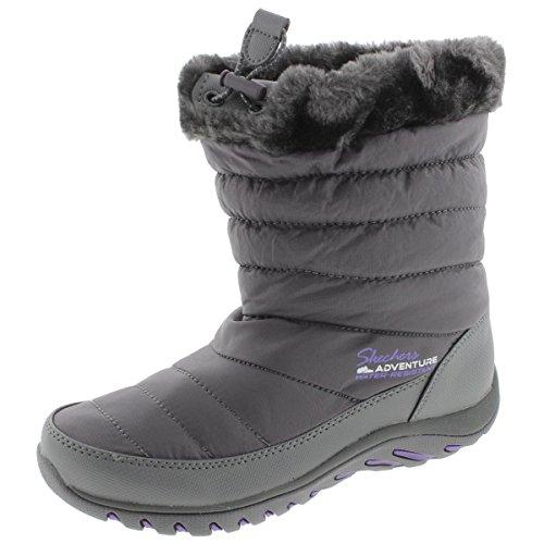 Skechers Women's Descender Winter Boot - Charcoal - 5.5 B...