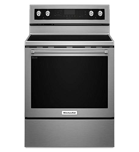 Stainless Steel Kitchenaid 30-inch 5-element Electric CONVECTION......