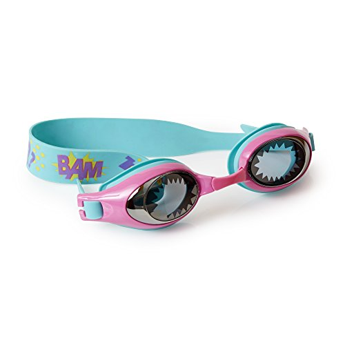 [Swimming Goggles For Girls - Super Girl Kids Swim Goggles By Bling2o (Cat Girl (Blue))] (Red Baron Baby Costume)