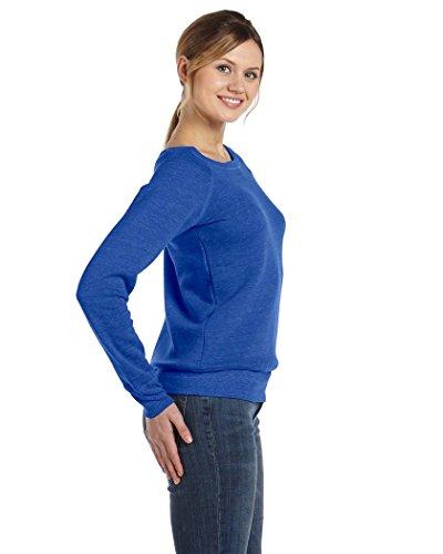 Bella Canvas - Camisa deportiva - Manga Larga - opaco - para mujer True Royal