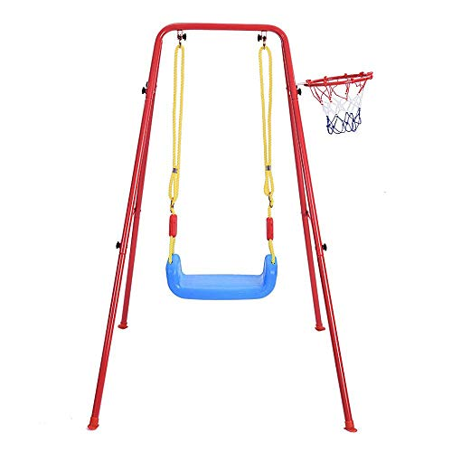 Clearance Sale!UMFun Children's Toys Swing Basketball Combination Swing Set Indoor And Outdoor Play -